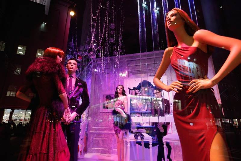 Saks Fifth Avenue Holiday Window Unveiling