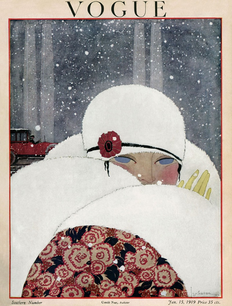 Illustrated by Helen Dryden, Vogue, January 1919