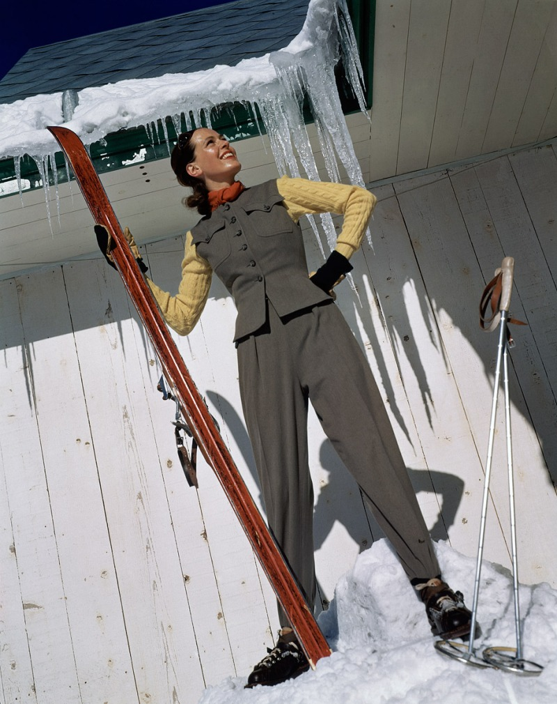 Photographed by Serge Balkin, Vogue, August 1946