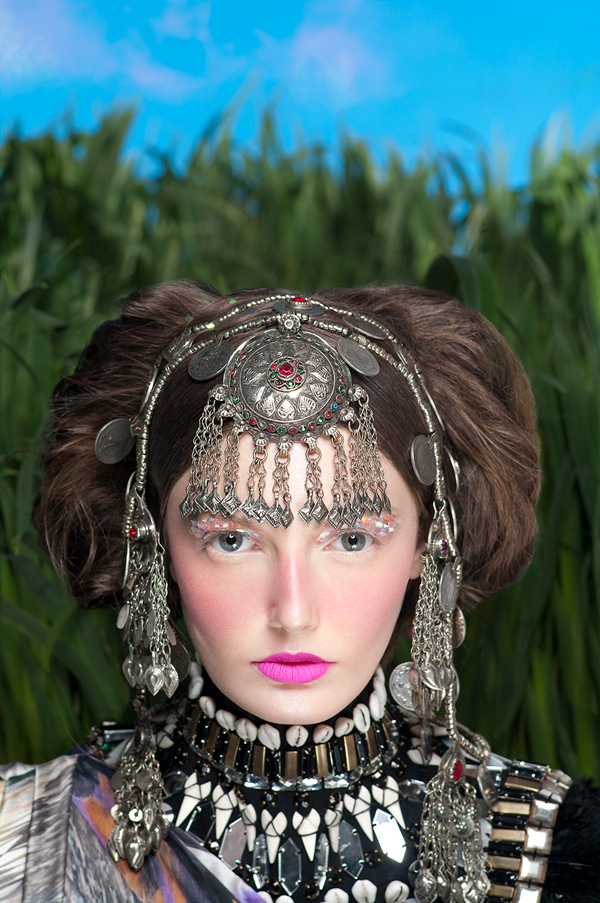 In the Steppes of Ulan Bator - Beauty Editorial