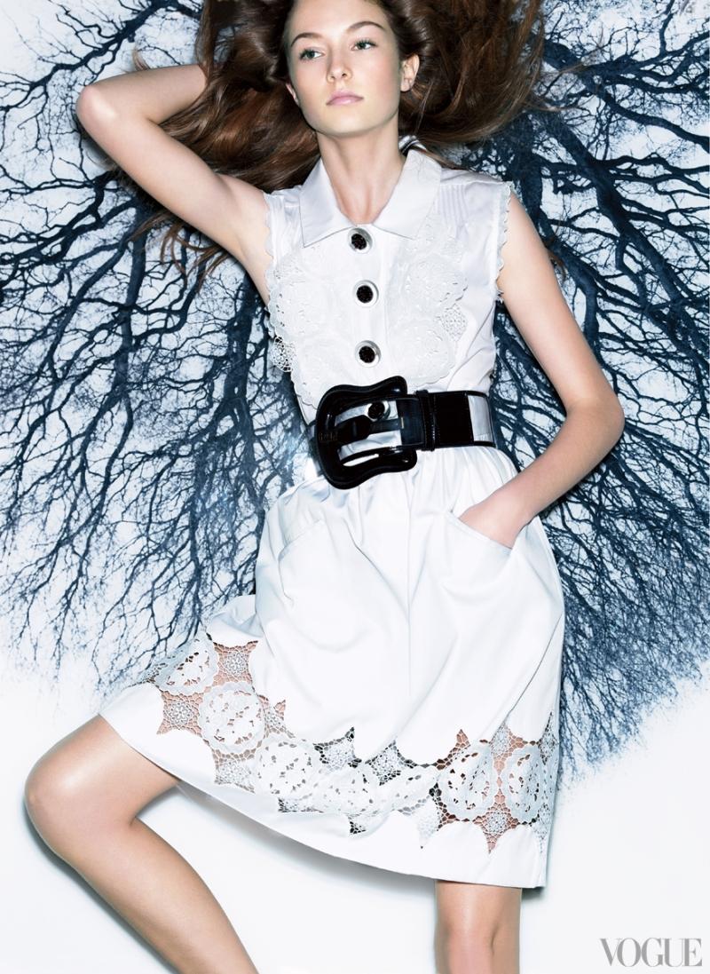 Photographed by Patrick Demarchelier, Vogue, June 2008