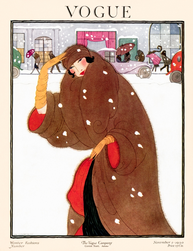 Illustrated by Jean Pages, Vogue, December 1930