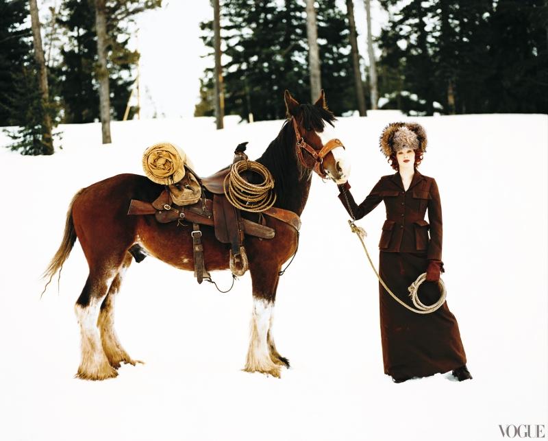 Photographed by Raymond Meier, Vogue, January 2006