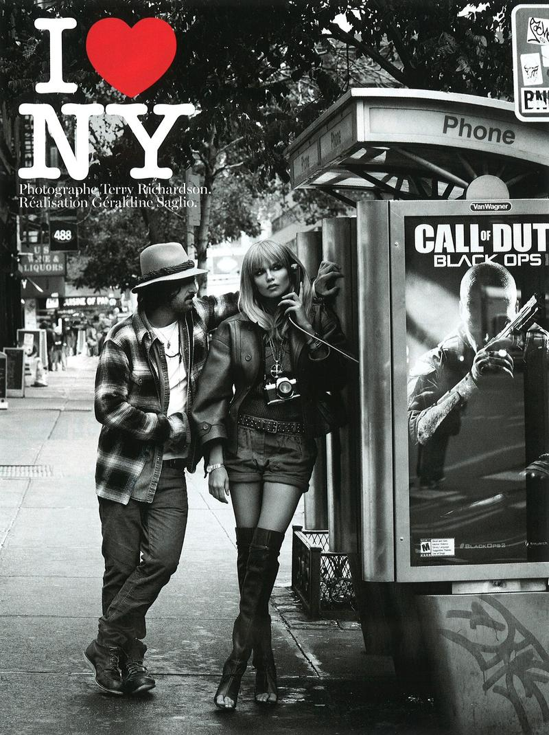 Vogue Paris i love new york