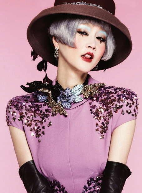 Harper's Bazaar Korea January 2013
