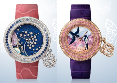 Van Cleef & Arpels Charms Extraordinaire watches for SIHH 2013