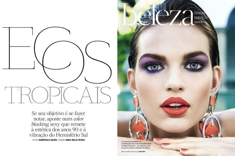 Vogue Brasil ecos tropicais