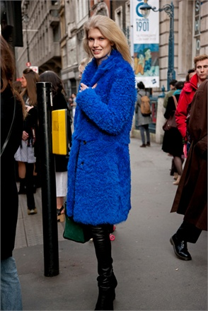 Model Look From London Fashion Week Fall 2013