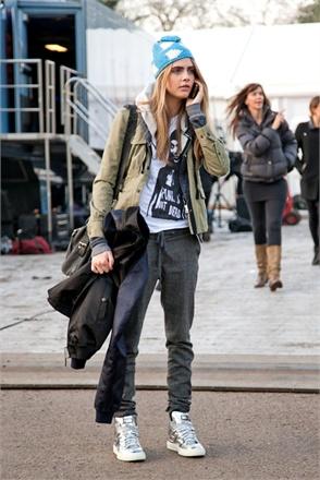 Model Look From London Fashion Week Fall 2013