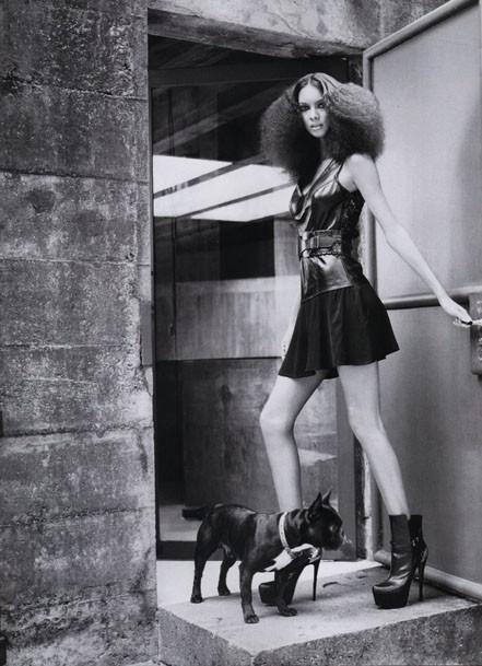 Harper's Bazaar Brazil atitude black