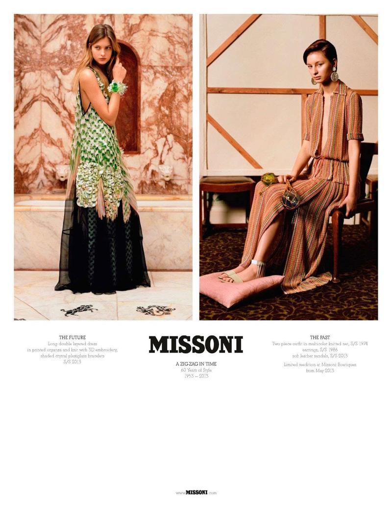 missoni s/s 13 60th anniversary campaign  -800w