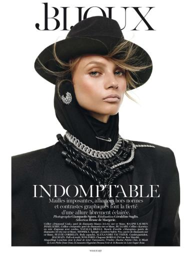 Vogue Paris : Indomptable