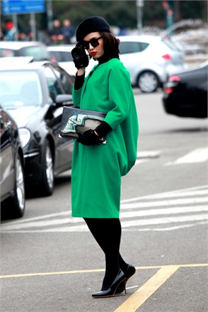 street style milan fashion week fall 2013
