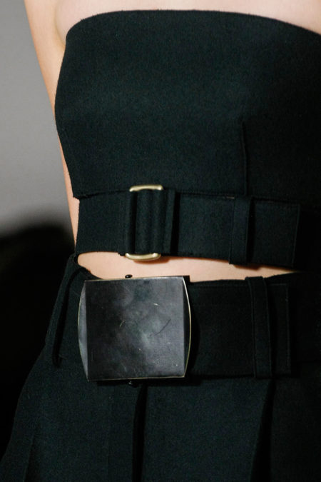 Details At Calvin Klein Collection Fall 2013