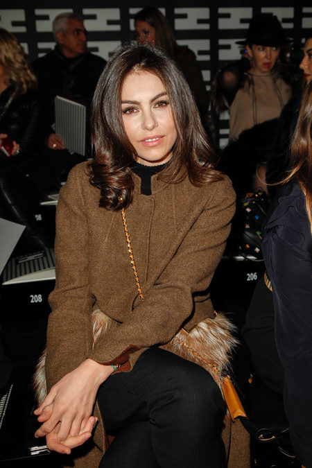 front row at fendi fall 2013