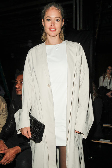 doutzen kroes at Theyskens' Theory fall 2013