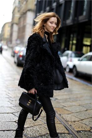 Models Off The Runaway At Milan Fashion Week Fall 2013
