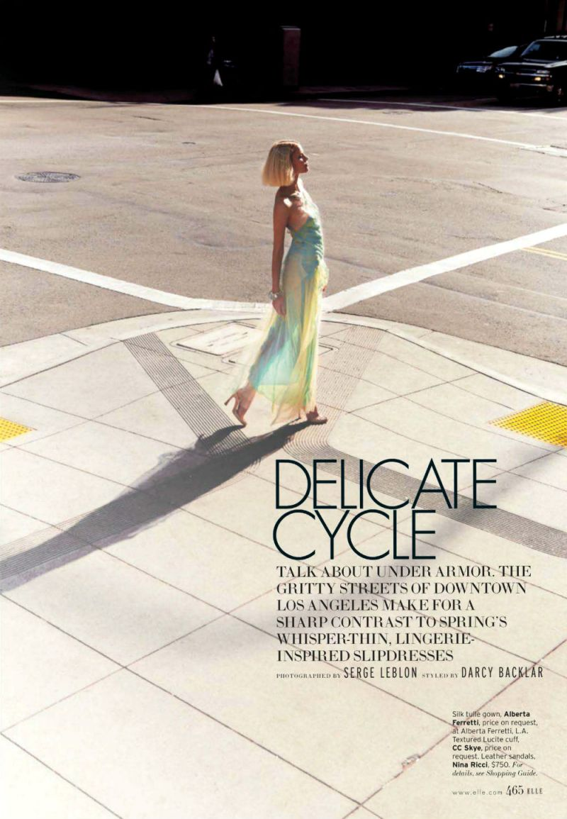 Elle Us : Delicate Cycale