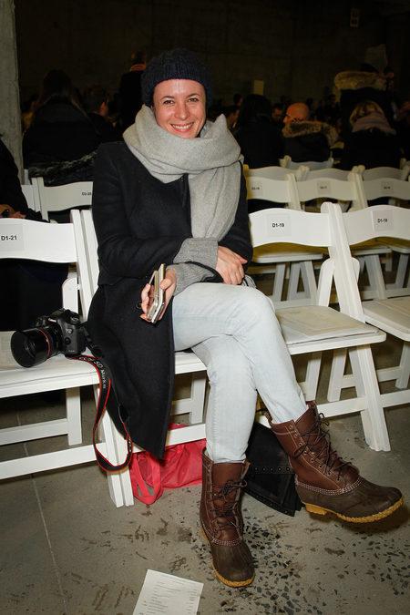 Front Row At Altuzarra Fall 2013
