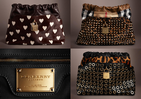 7111d5726b Burberry bags from Runway Made to Order Collection 2013   the ...