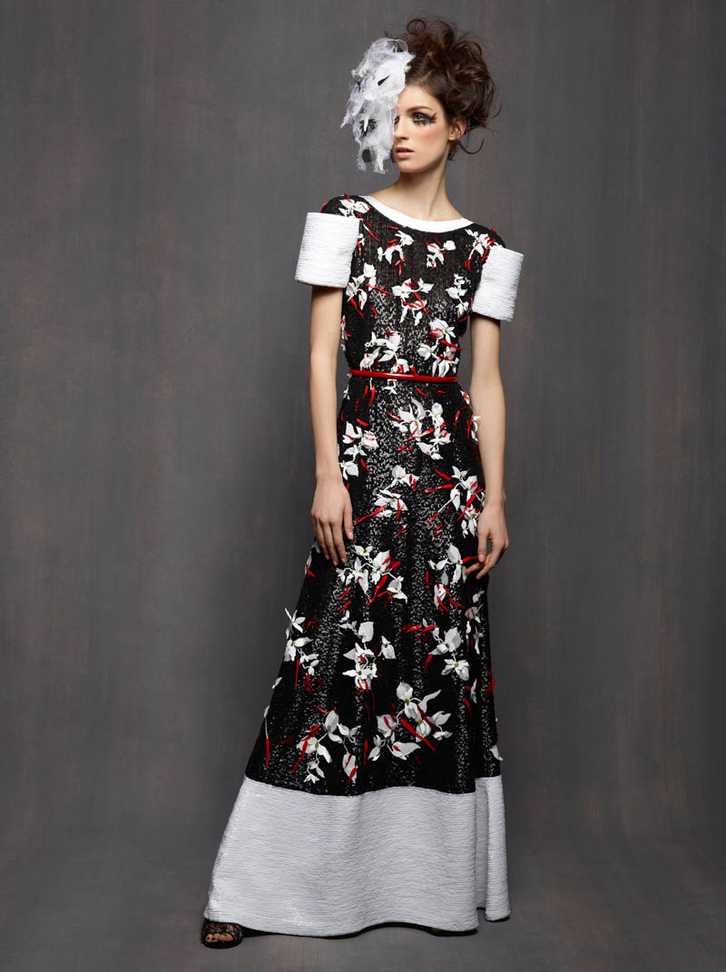 Chanel Haute Couture Spring 2013 Lookbook