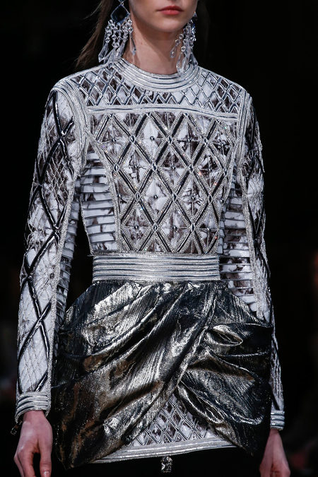 details at balmain fall 2013
