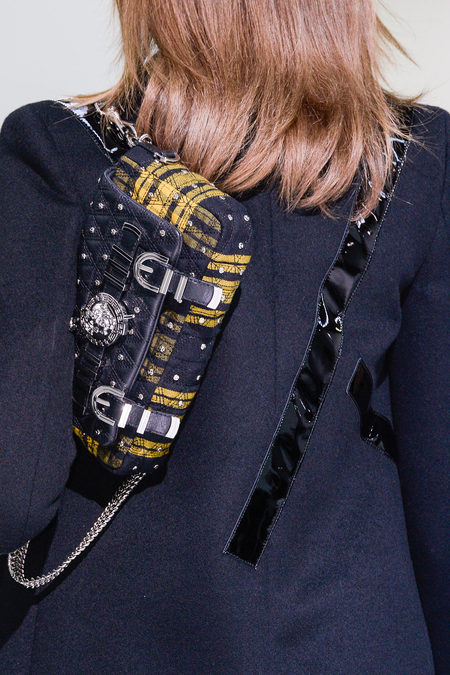 Details At Versace Fall 2013