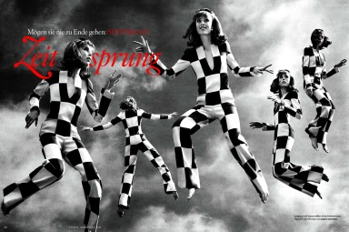 Vogue Germany : A Leap In Time