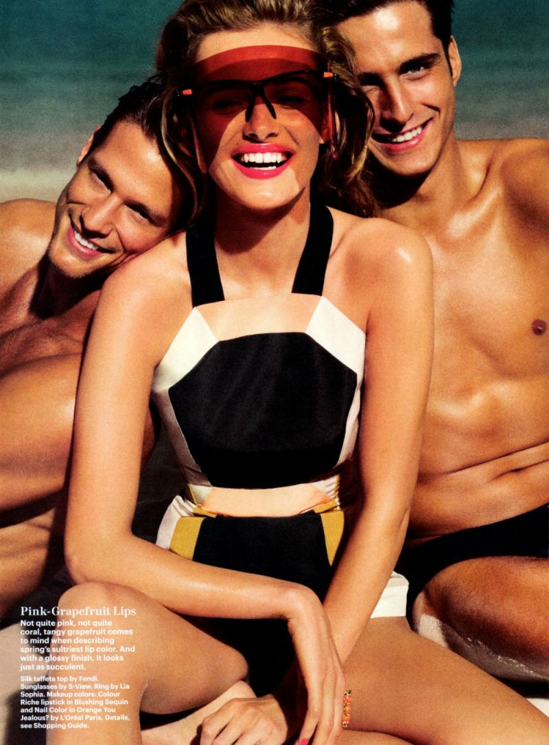 Edita Vilkeviciute by Tom Munro for Allure US March 2013