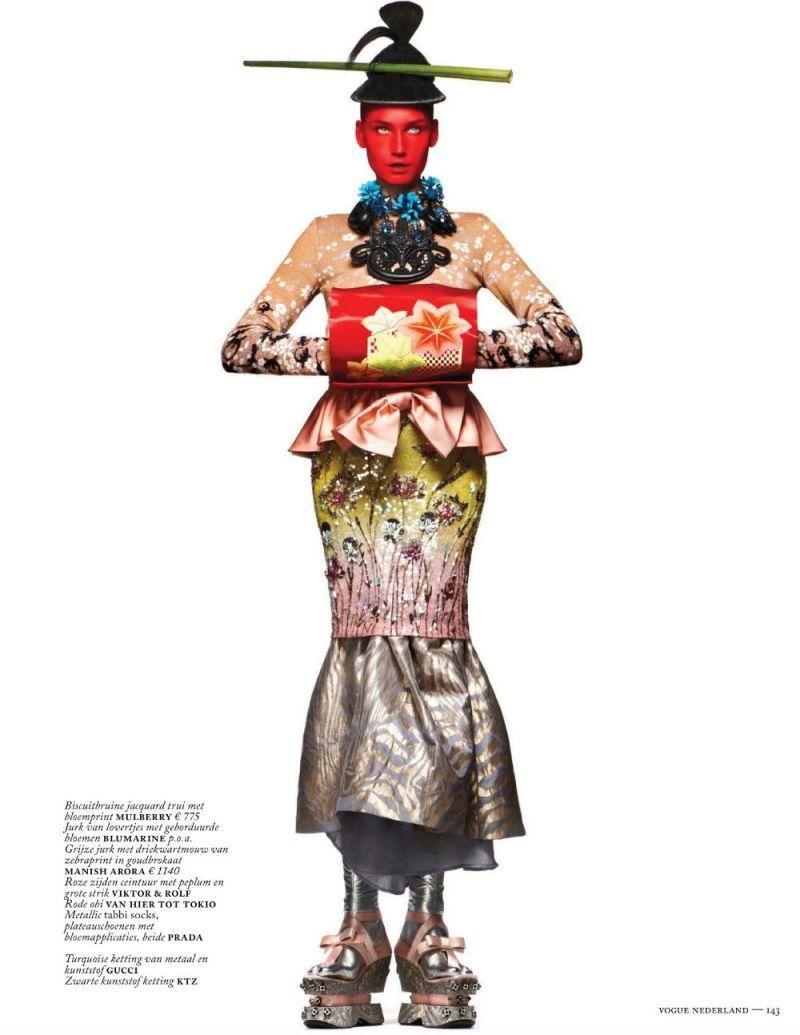 Vogue Nederland  : Modern Geisha