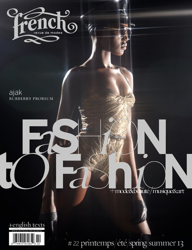 spring/summer  2013 edition of French Revue de Modes :