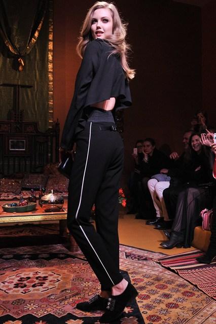 H & M Fall 2013 At Paris Fashion Week