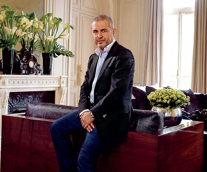 elie saab at home