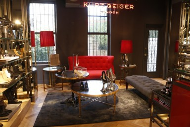 The Kurt Geiger store on Bleecker Street in New York City.