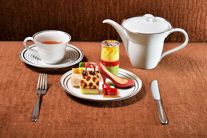 Mandarin Oriental &  Jimmy Choo : Afternoon Tea