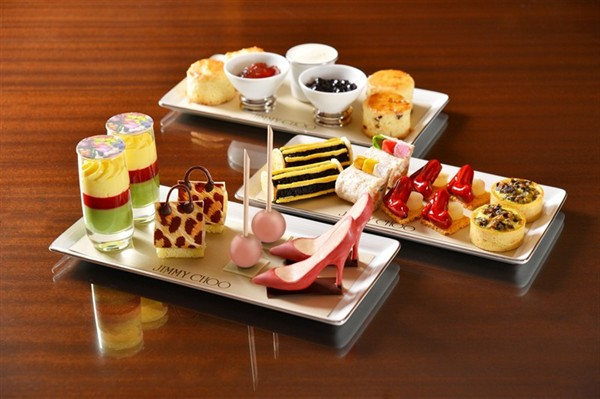 Mandarin Oriental &  Jimmy Choo : Afternoon Tea