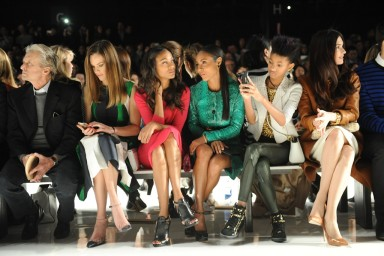 Front Row At Michael Kors Fall 2013 Collection