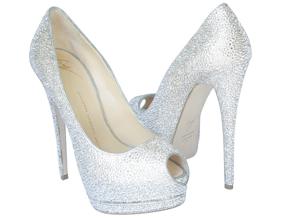 Million-Dollar Shoes from Crystal Heels Dazzle at Leon's of Beverly Hills