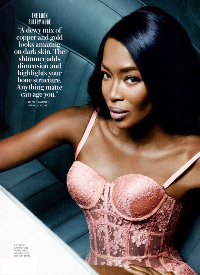 Coco, Naomi and Karolina by Dusan Reljin for InStyle US March 2013