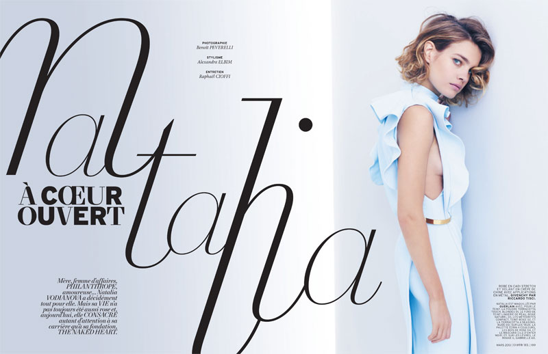 L'officiel Paris : Her Name Is Natalia