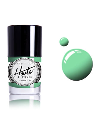 Green with envy Nail polish