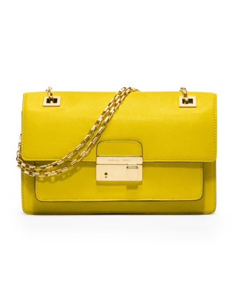 Michael Kors Gia Chain-Strap Flap Bag
