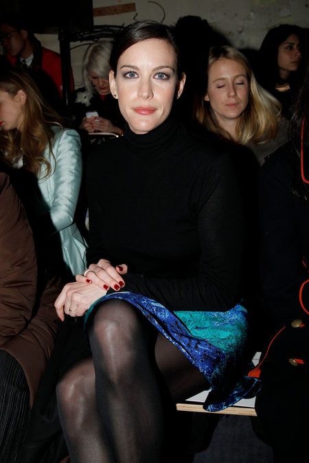 Front Row At Proenza Schouler Fall 2013