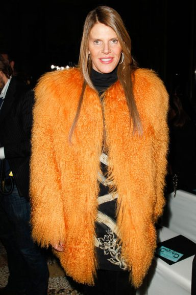 front row at emilio pucci fall 2013