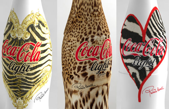 roberto cavalli / coca cola light italy