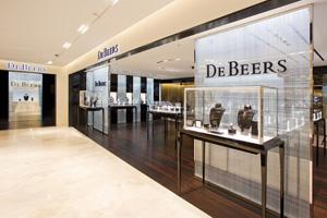 DeBeers at Printemps Paris