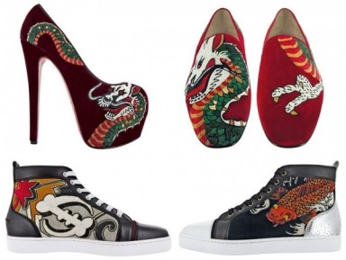Christian Louboutin : Tattoos To Mesure