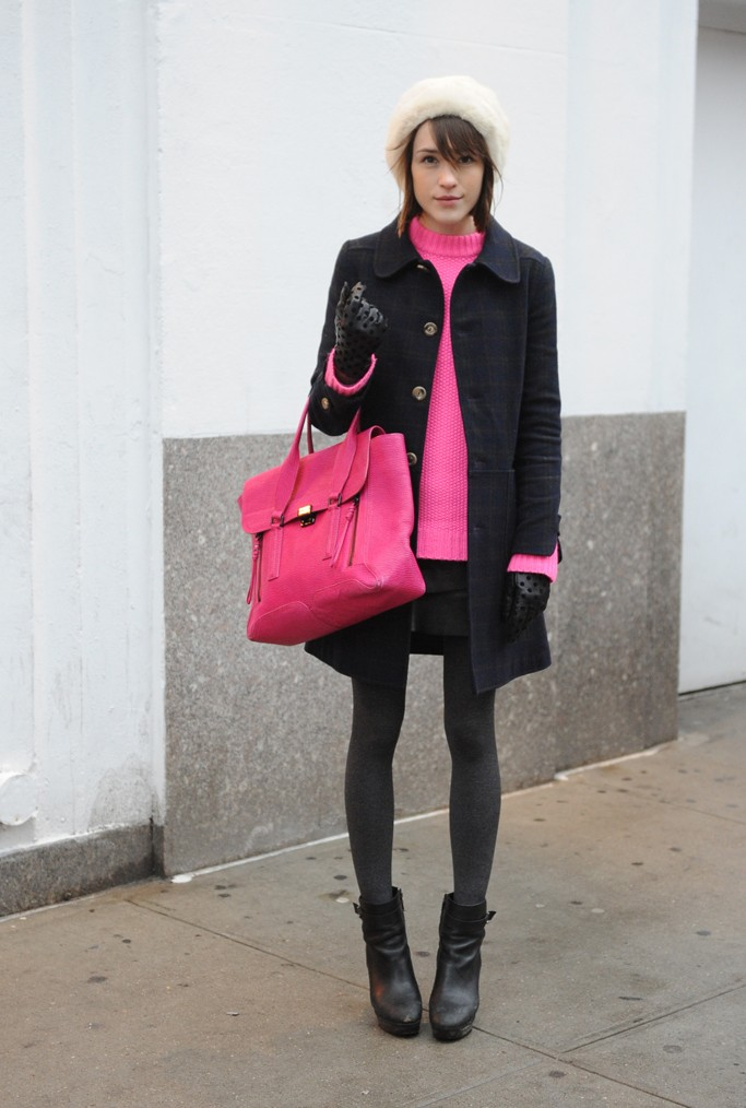 New York Fashion Week February 2013 Street Style