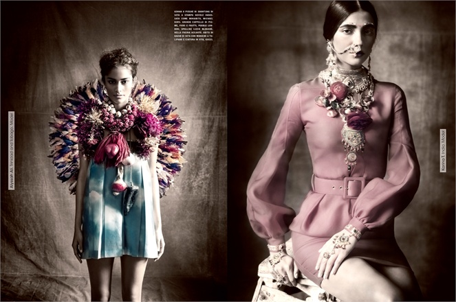 Vogue Italia : Multi Ethnic Gallery