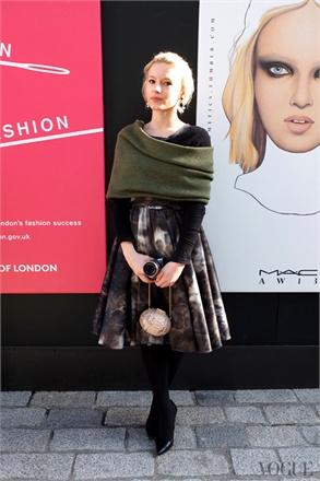 street style london fashion week february 2013